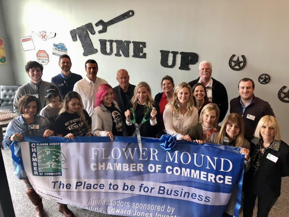 tim-kelly-ross-community-involvement-Flower-Mound-Chamber-of-Commerce-Ribbon-Cutting-Tune-Up[1]