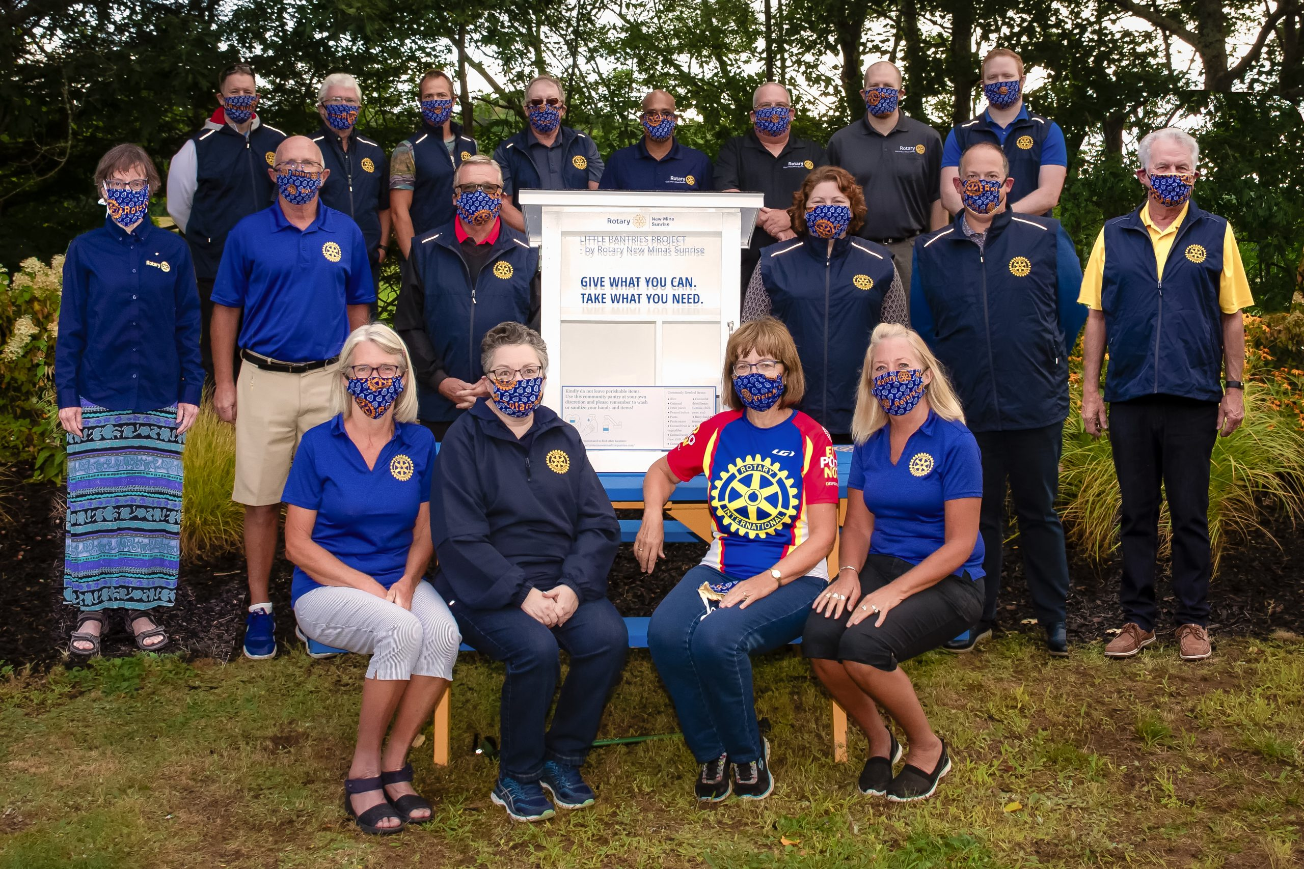 The Rotary Club of New Minas  – The Free Little Pantry