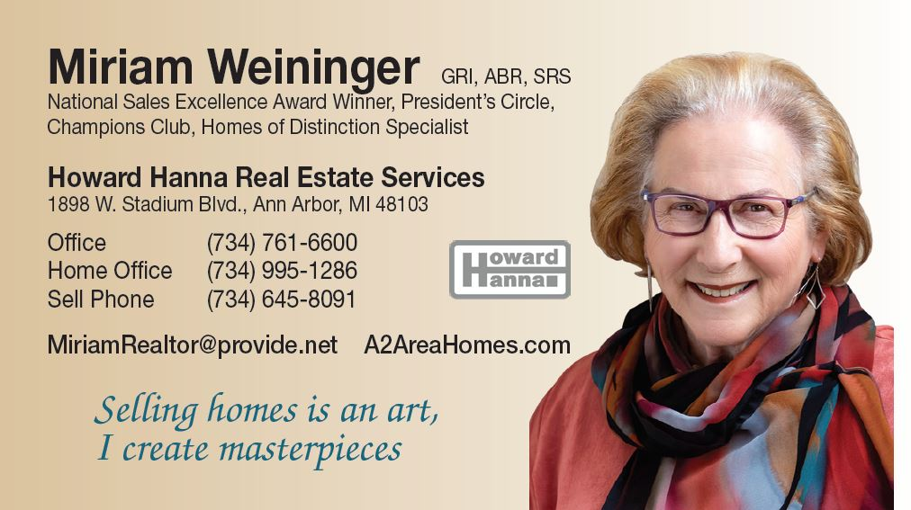 Featured Video Howard Hanna Real Estate Services – Miriam Weininger