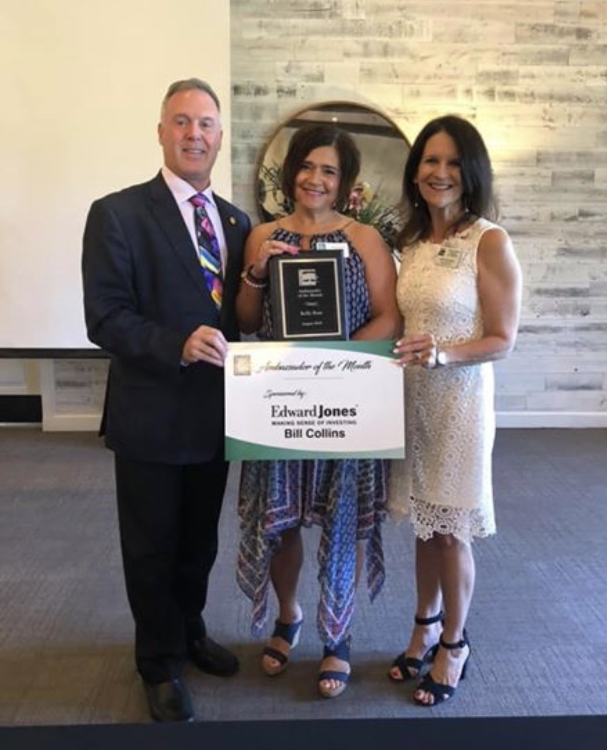 Flower Mound Chamber of Commerce - August 2019 Ambassador of the Month