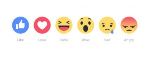 Facebook Launches Reactions